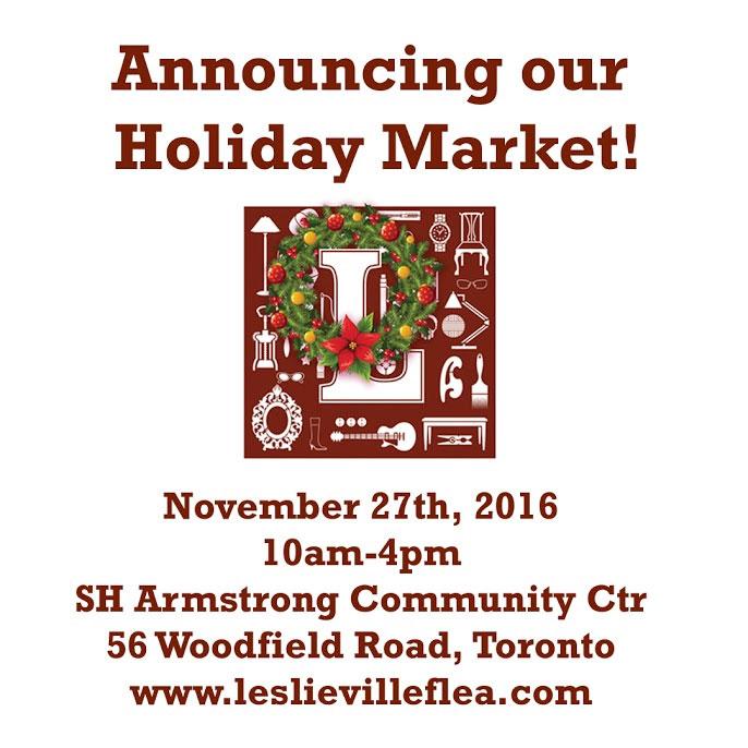 Leslieville Flea Holiday Market