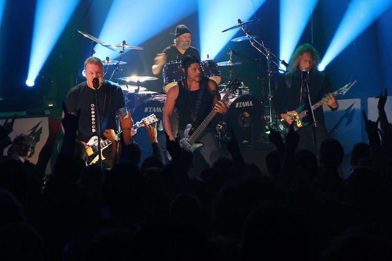 Photo:  Metallica