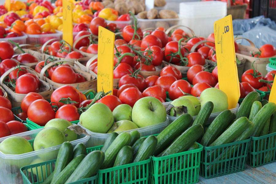 Photo:  Fairmount Park Farmers' Market