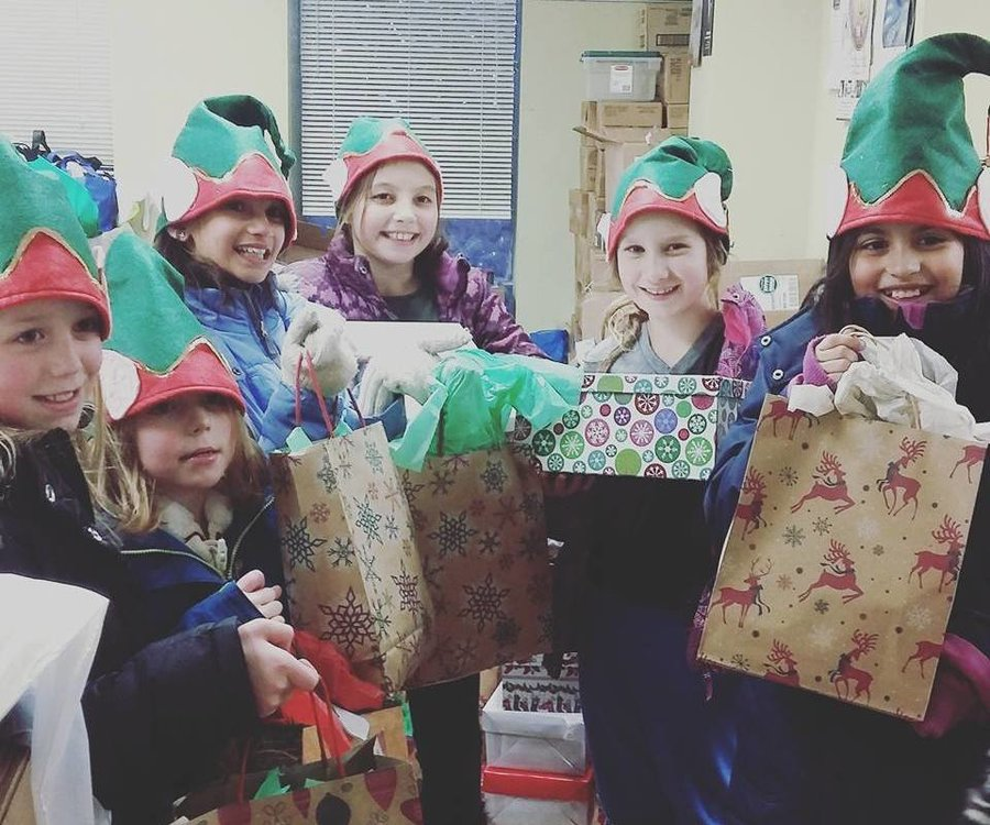 Photo:  The Care Gift Elves