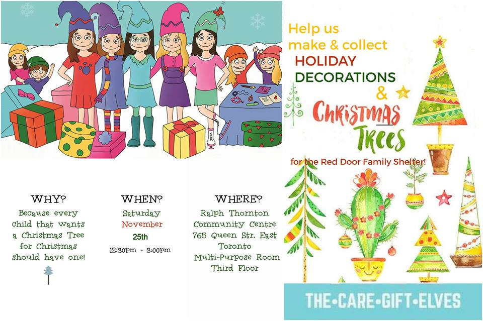 Holiday Arts & Crafts with The Care Gift Elves