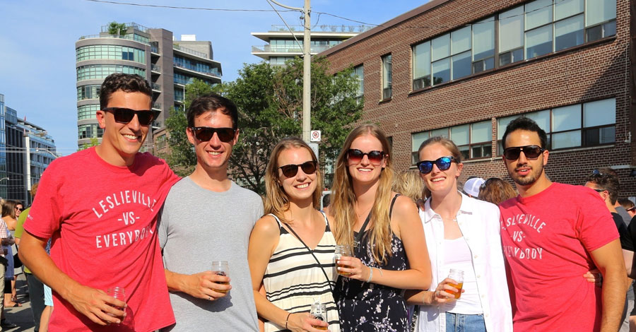 Photo:  Leslieville Beer Festival
