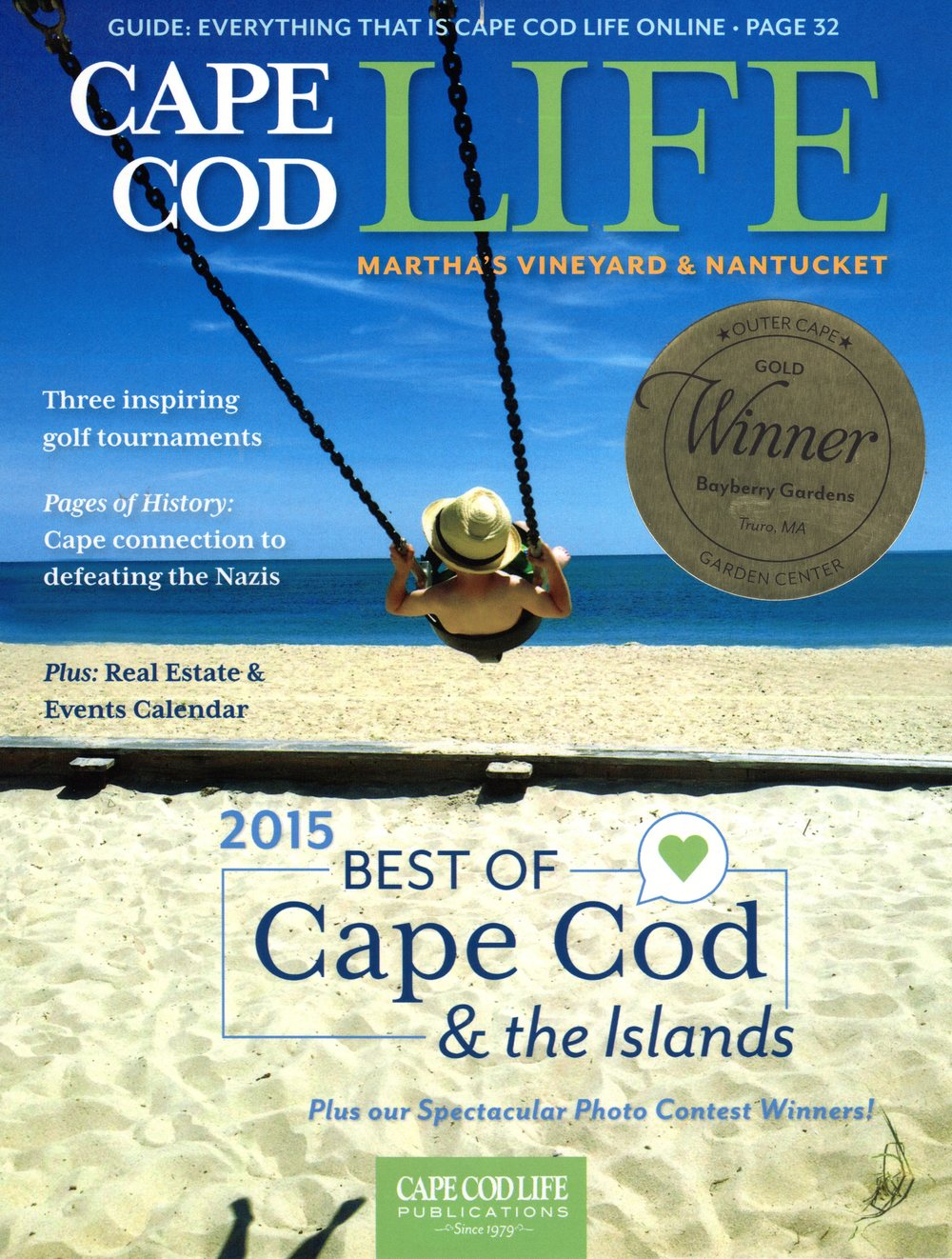 Cape Cod Life Best of 2015