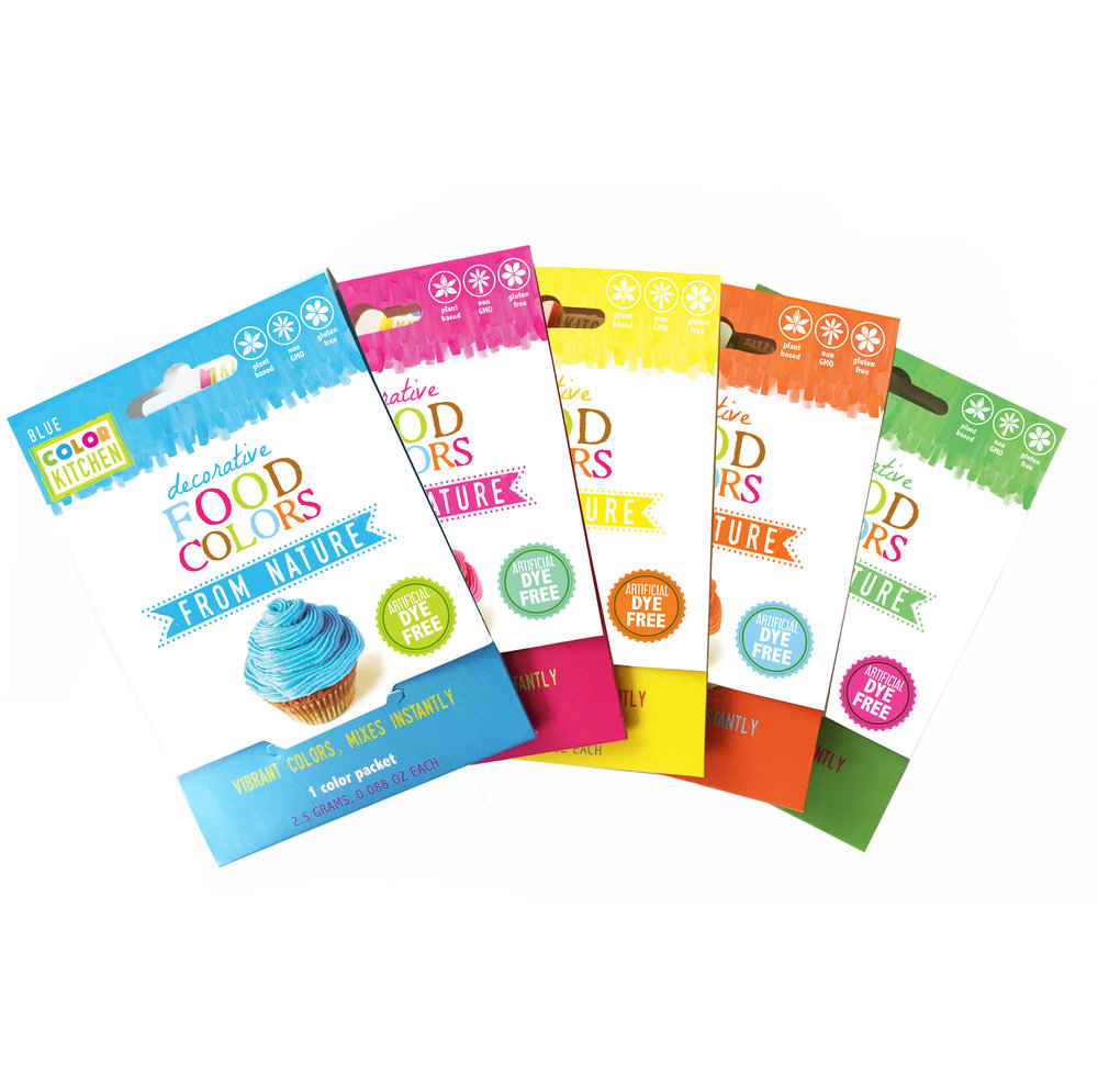 Set of 5-Single Color Packets