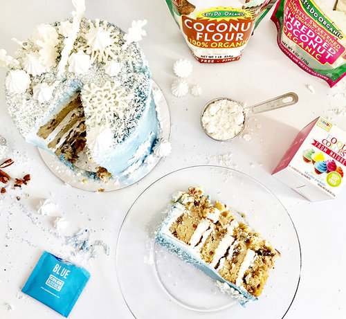 Italian Cream Cake Gluten And Dairy Free Colorkitchen