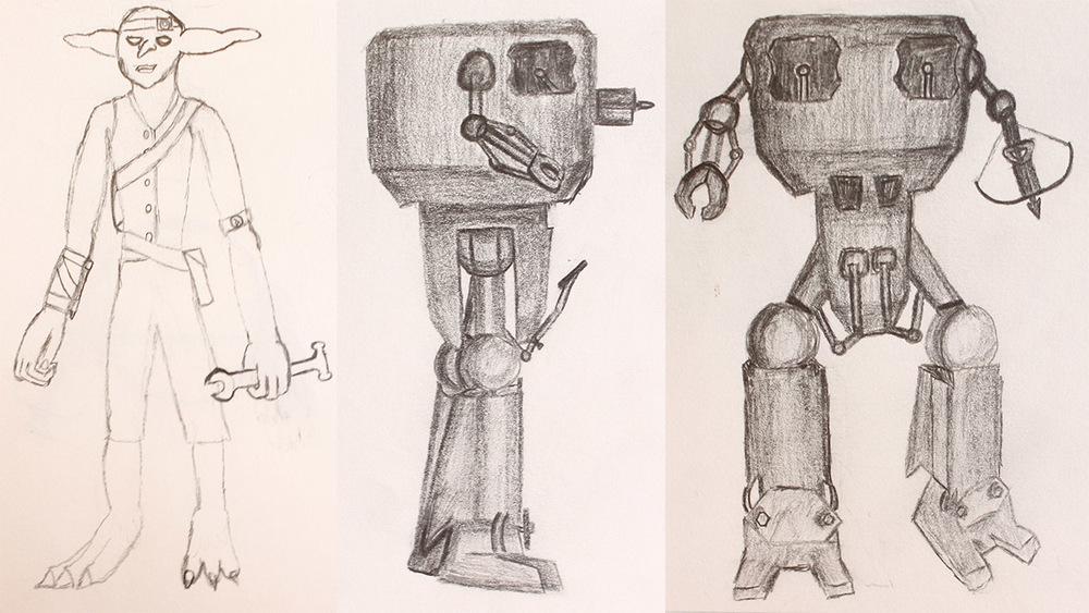 Goblin Engineer and Mek.jpg