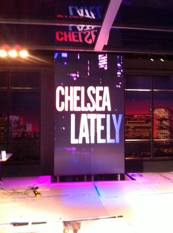 Chelsea Lately Set Pieces