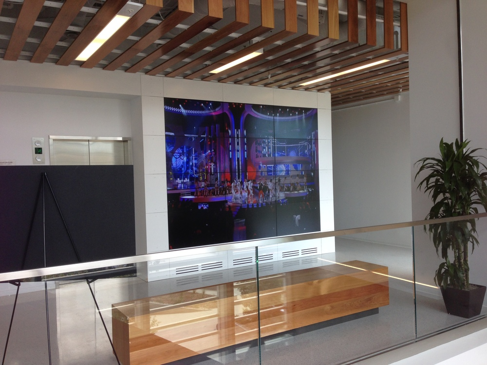 KNBC- Tom Brokaw Center Lobby Grid