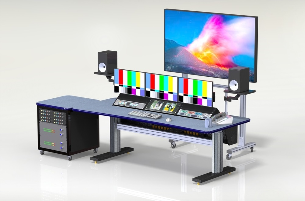 Zephyr 3 bay Media Desk
