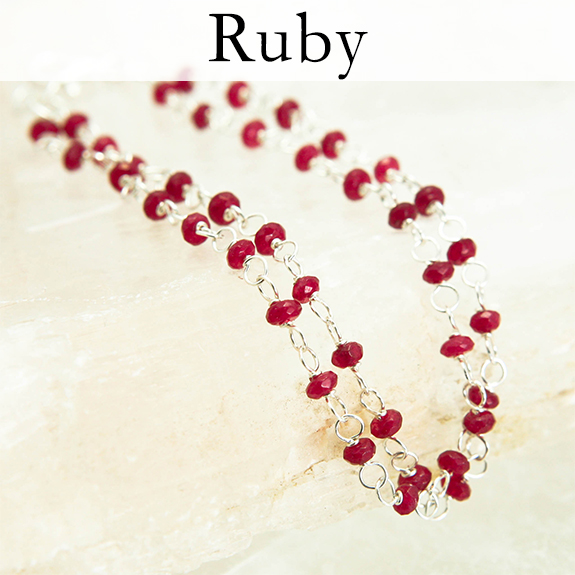 Passion, warmth, energy, love, joy, prosperity, success. Fiery. Can be over-passionate for some. July birthstone.