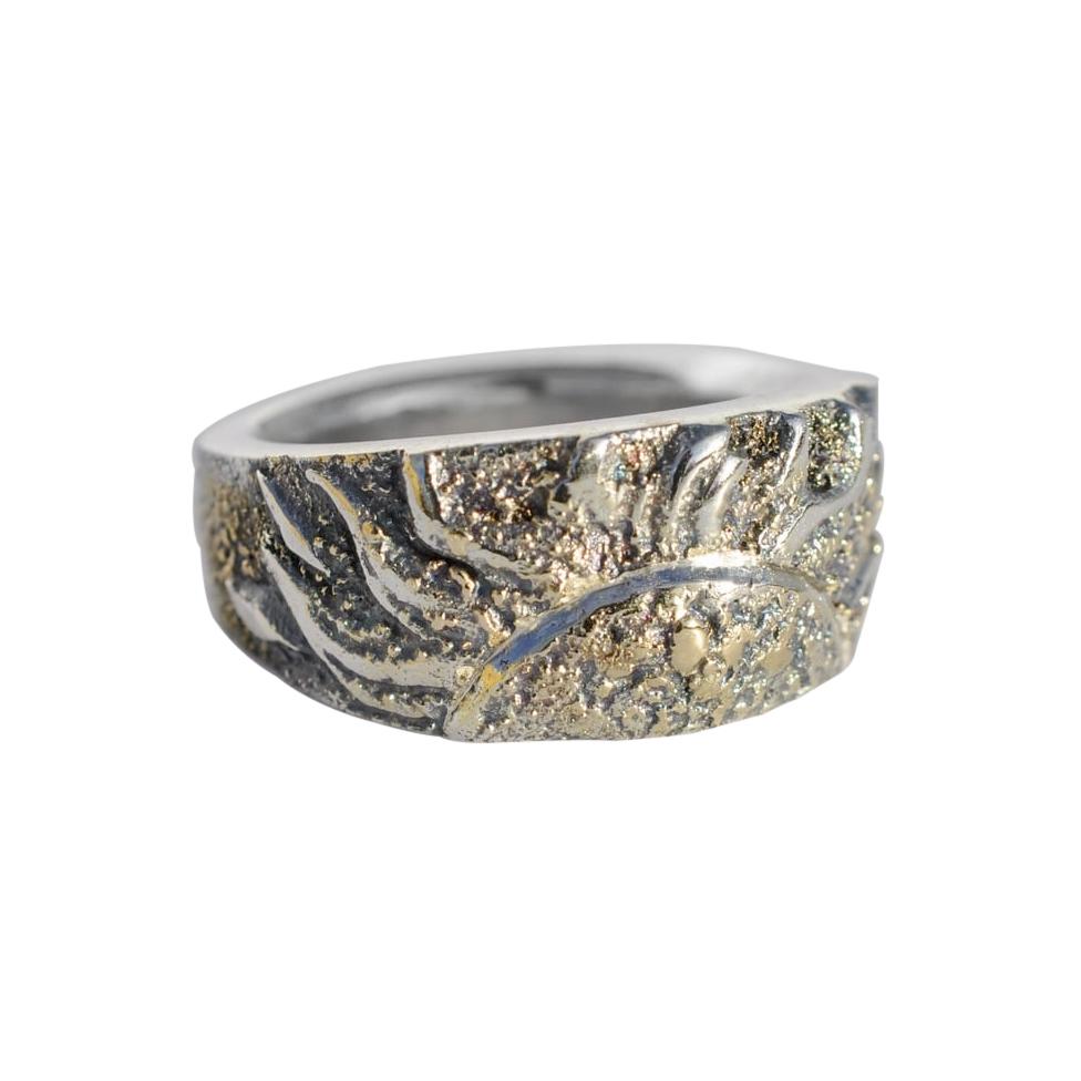 18k Gold Fusion Sun Ring