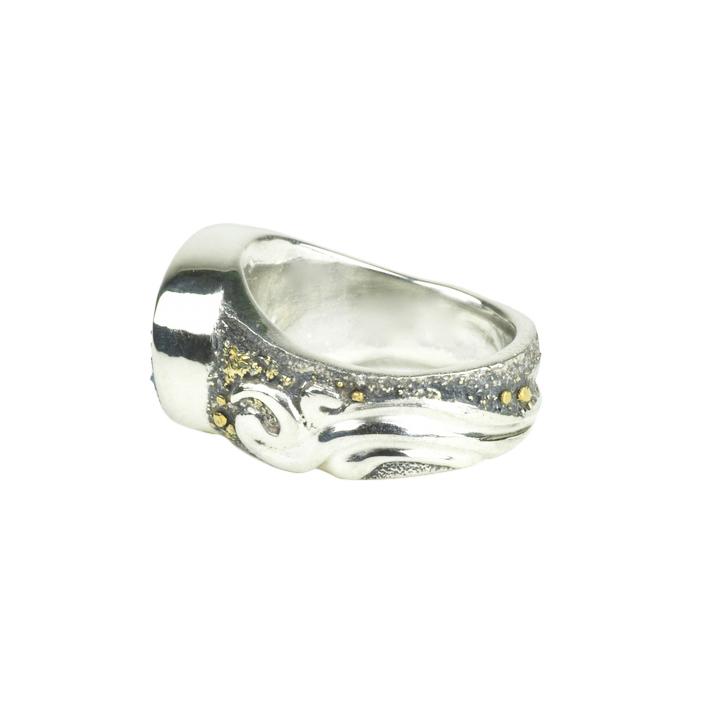 Dreamy Druzy Gold Fusion Ring