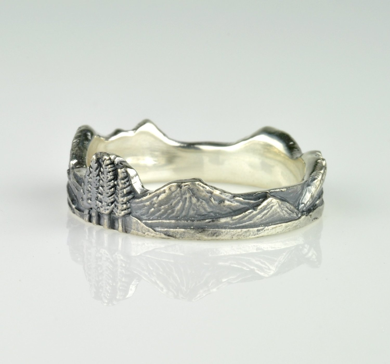 Cascades Mountain Ring Version 2.0 — Waylon Rhoads Jewelry