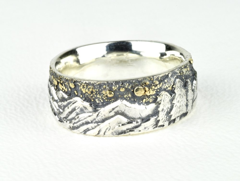 Colorado Rockies Mountain Ring