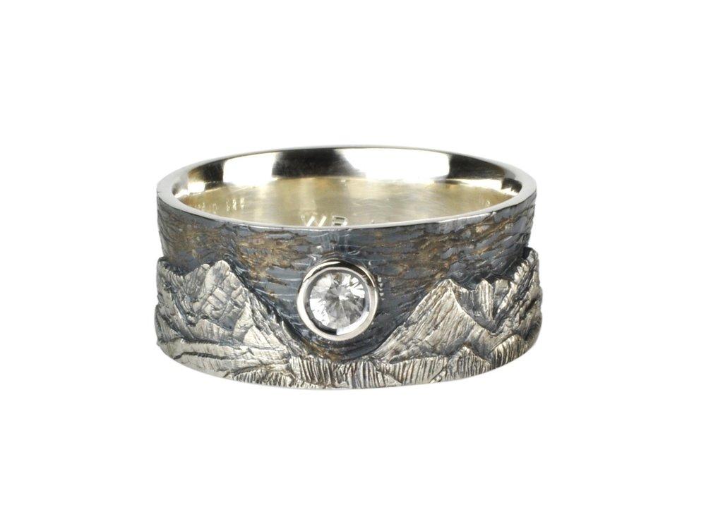June Mountain Landscape Ring