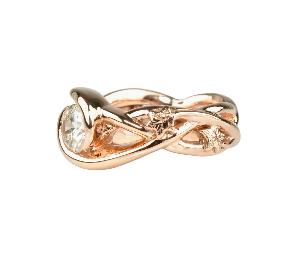 12k Rose Gold Ring