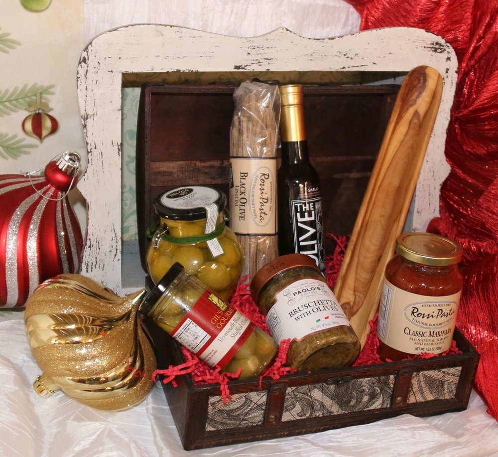 The Olive Lover's Gift Basket
