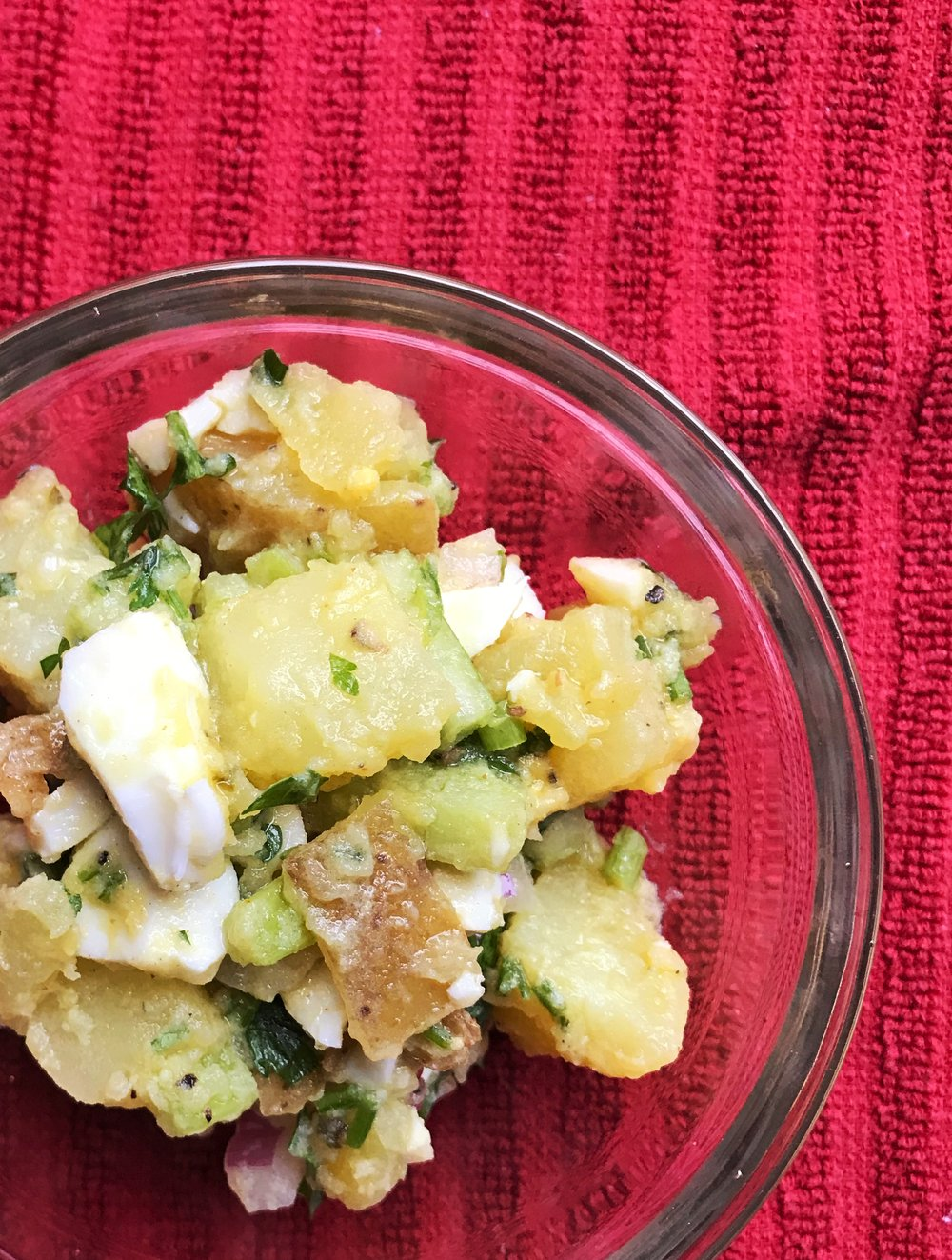 smoky potato salad