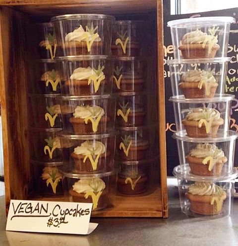 Don't think we forgot about you #loyal #socialmedia #fans! We've been keeping busy trying to find more ways to feed ya! You can now get our goods at The Wild Carrot in Timonium. // #vegan #veganbaked #veganbakedgoods #vegetarian #cupcakes #vegancakes #vegancupcakes #yum #expanding #smallbusiness #eatlocal #shoplocal #brothersisterbusiness #dairyfree #eggfree #natural #organic