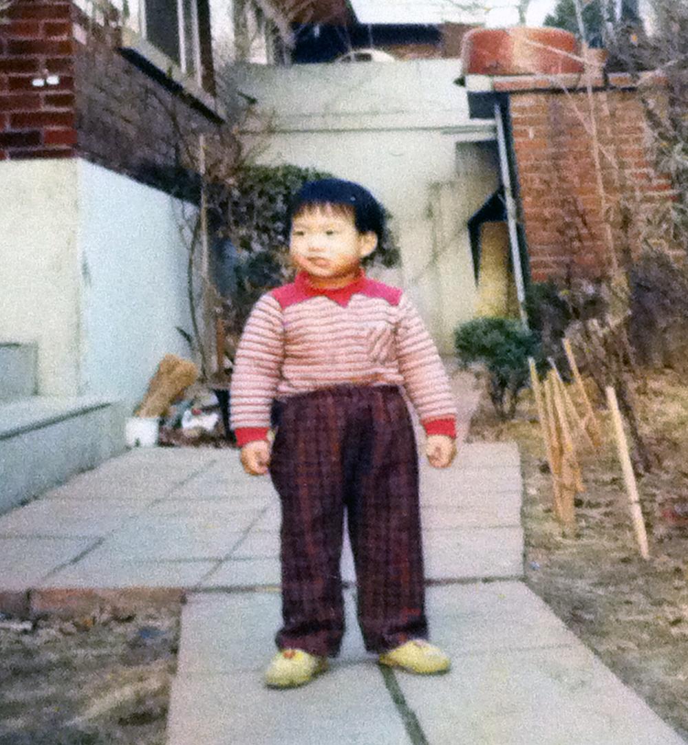 Growing up in Korea, dressed like my grandpa