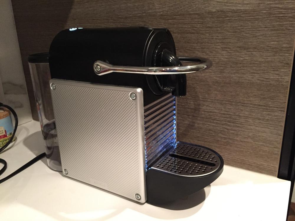 Nespresso Pixie in our kitchen