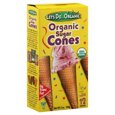 Let's Do...Organic: Organic Sugar Cones