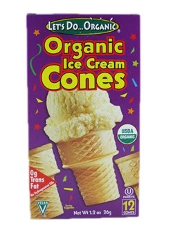 Let's Do Organic: Organic Ice Cream Cones