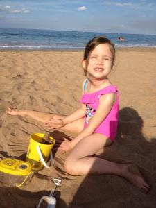 Enjoying Polo Beach