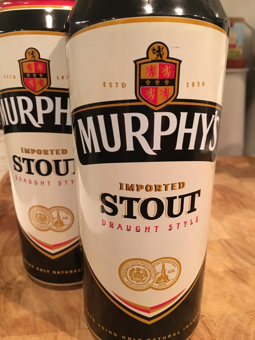 Ever essential Irish Stout. One for the stew, one for the cook.