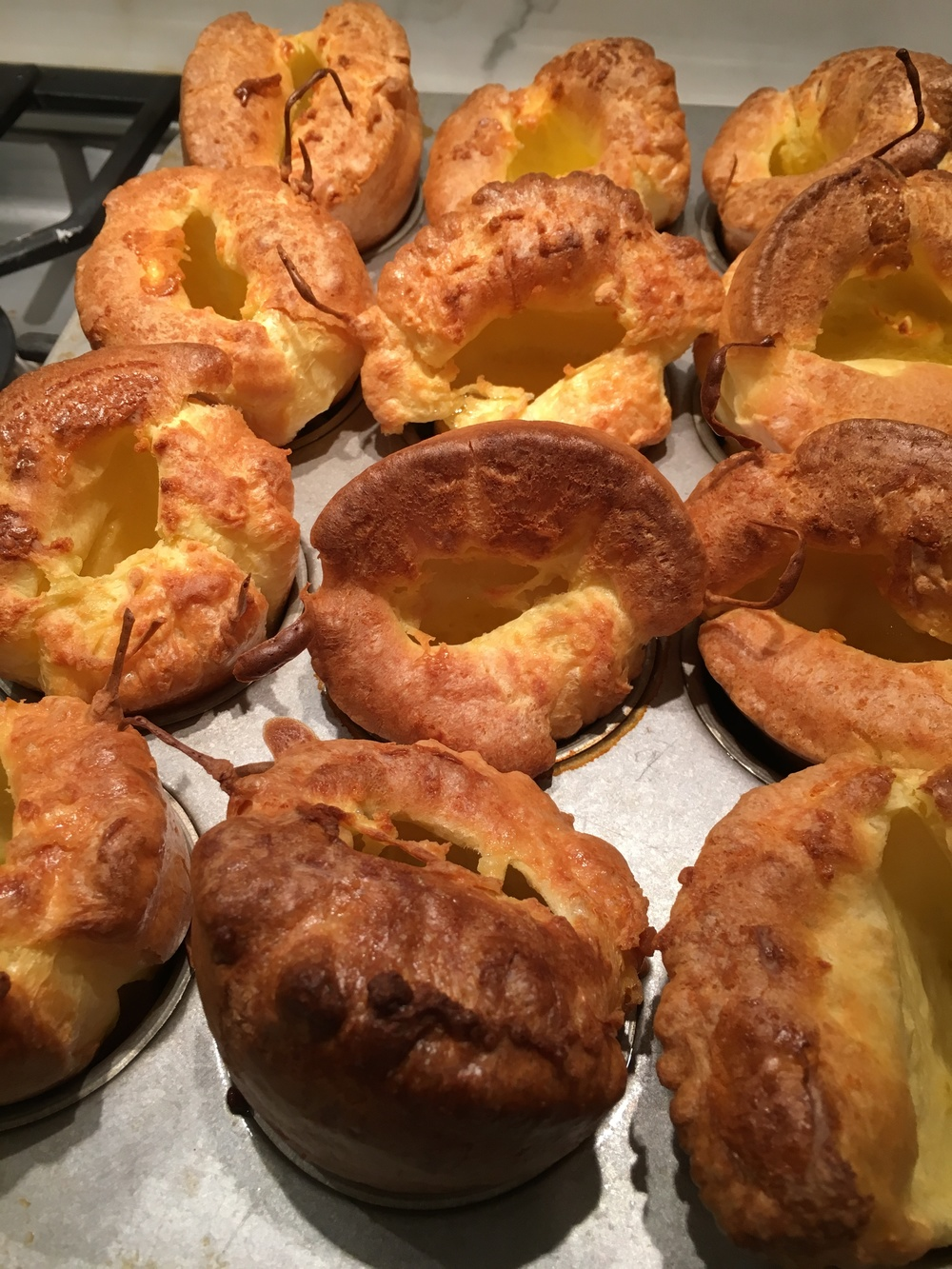 The best side to serve with this - Yorkshire Pudding. REcipe below.