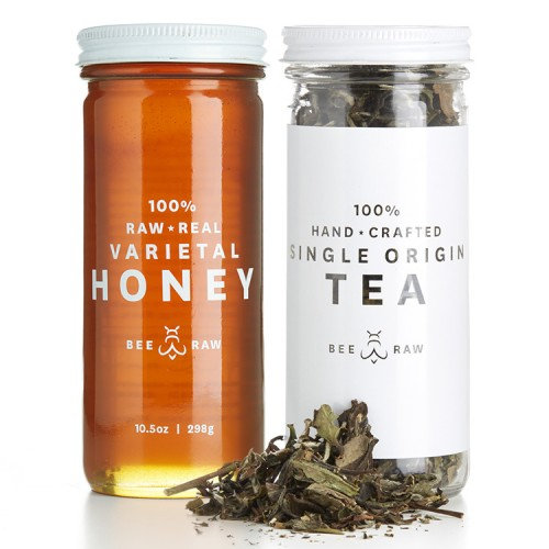 White Peony Tea & Orange Blossom Honey // $27
