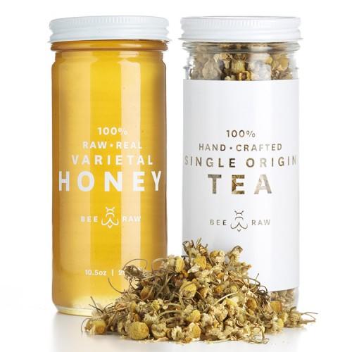 Chamomile Tea & Wild Raspberry Honey // $27