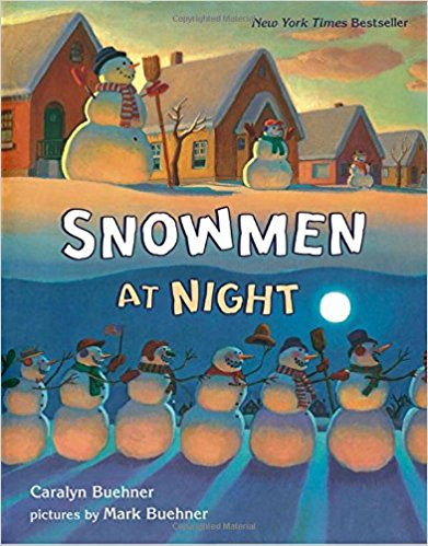Snowmen at Night - Not exactly about Christmas but rather the season. Super cute for little ones. I always enjoyed reading it to our daughter.