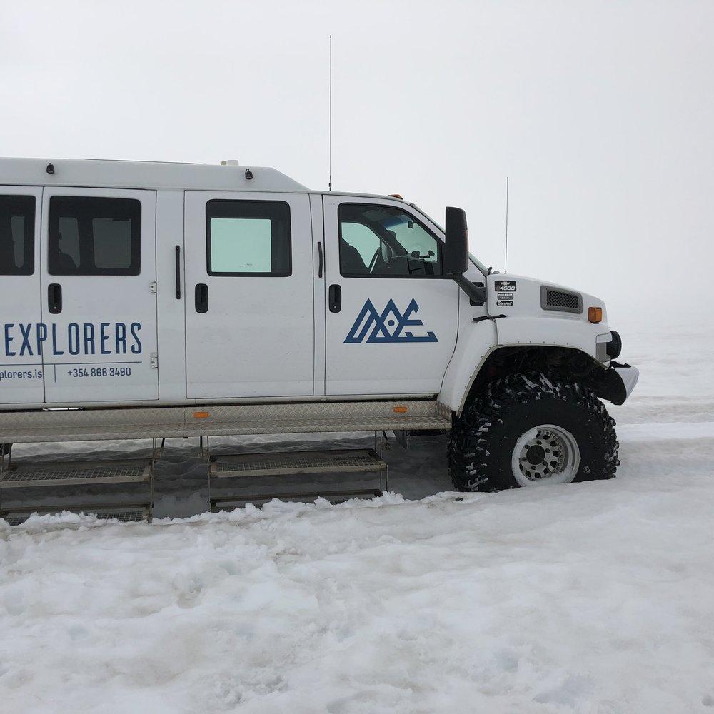 Glacier Tour - ICELAND