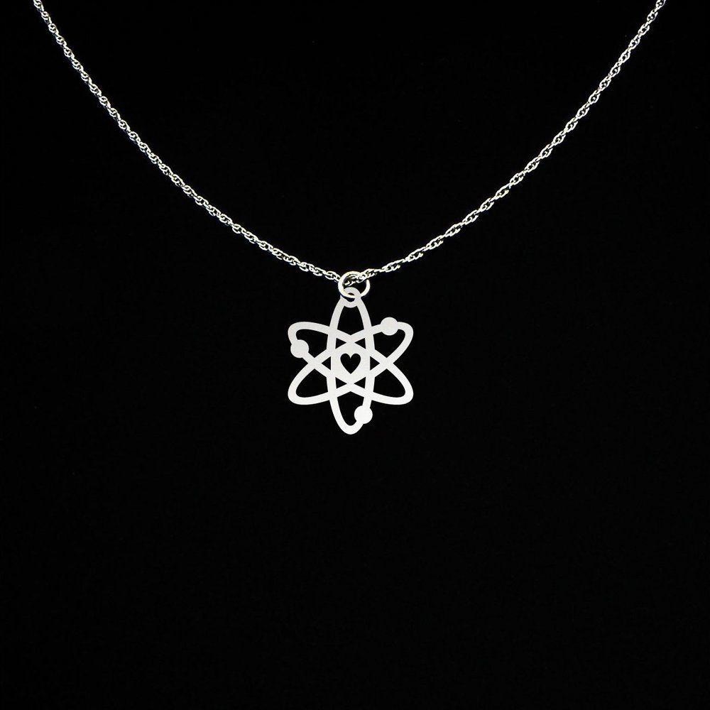 Atom Necklace - From McLaughlin Creations on Etsy