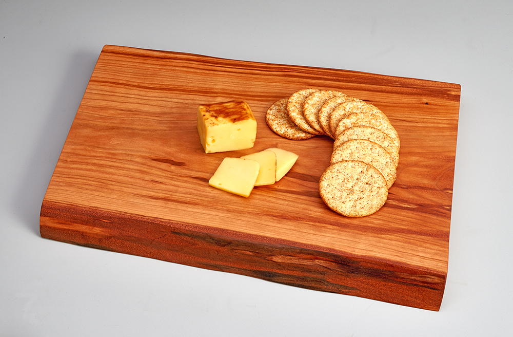 wooden cheese tray