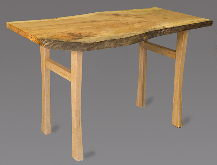 maple coffee table and custom wooden legs