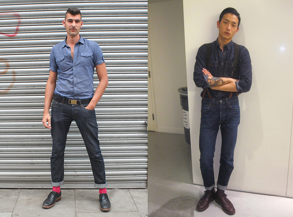 Mens style contemporary rockabilly rak an ter collective
