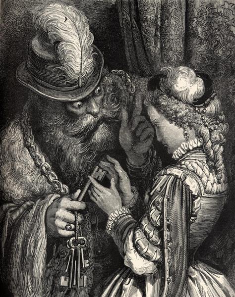 Gustave Doré,  Bluebeard (1862)
