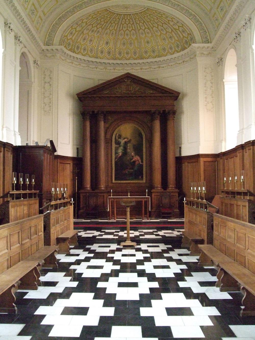 Clare College Chapel (credit: Wikimedia)