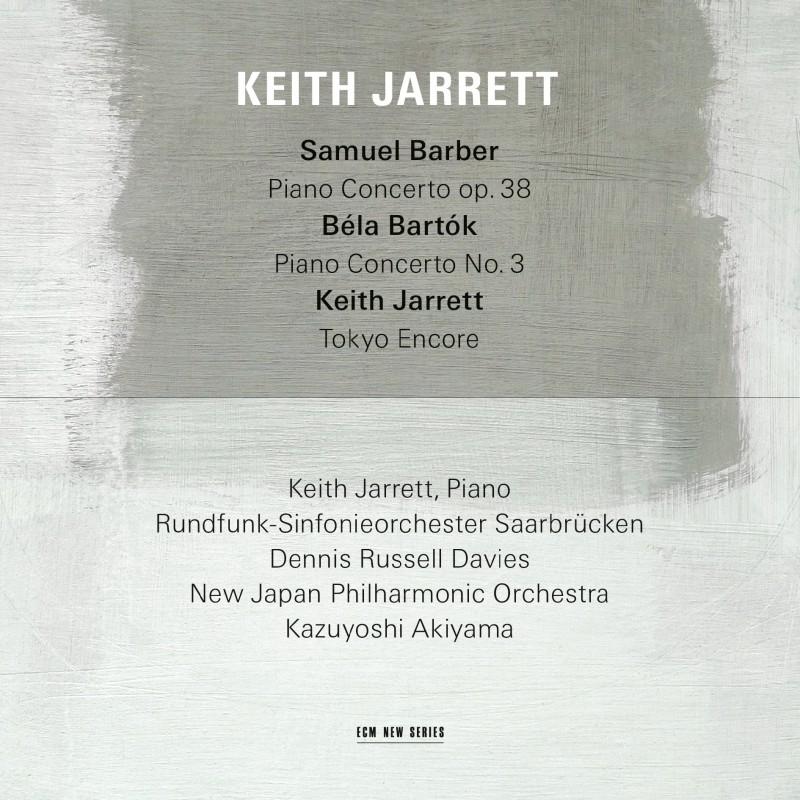 Keith Jarrett –Barber, Bartók, Jarrett