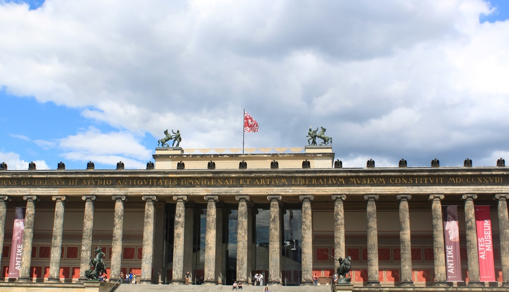 Atles Museum near the Berliner Dome.