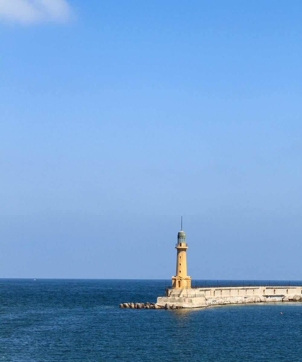 Lighthouse located near Montaza Palace.