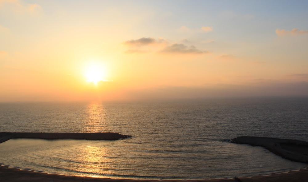 Sunset over the Mediterranean