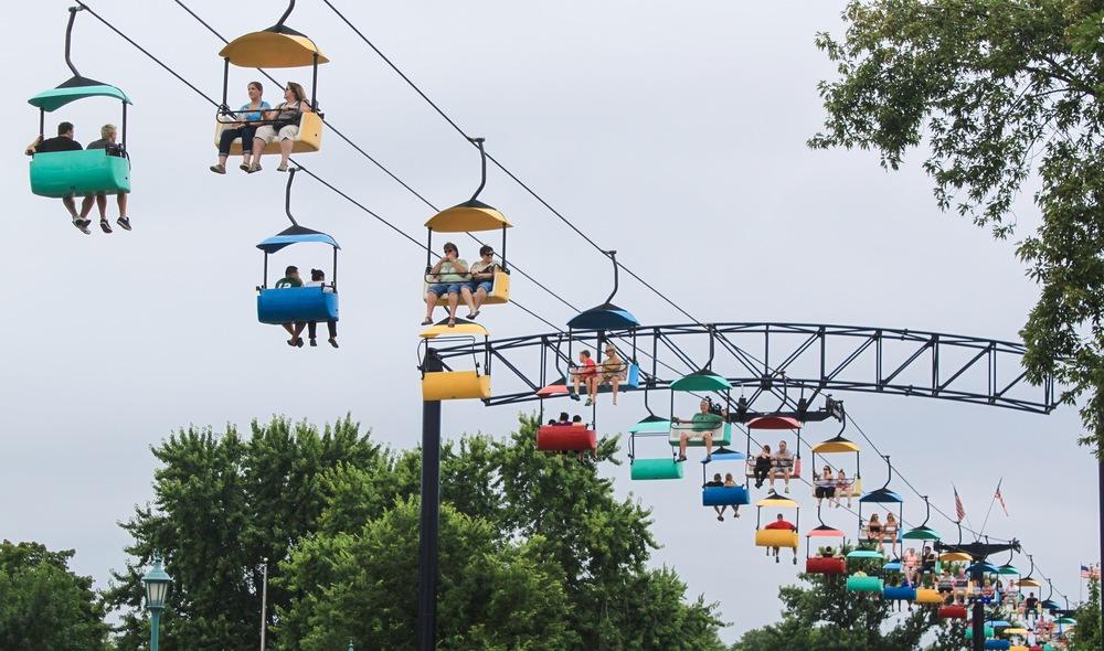 Skyride at the Minnesota State Fair