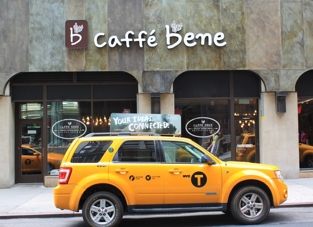 Cafe Bene located near Times Square