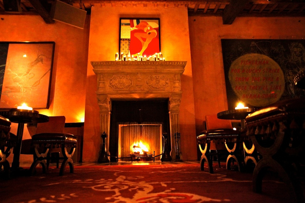 Inside Rose Bar Image via http://www.gramercyparkhotel.com/nightlife