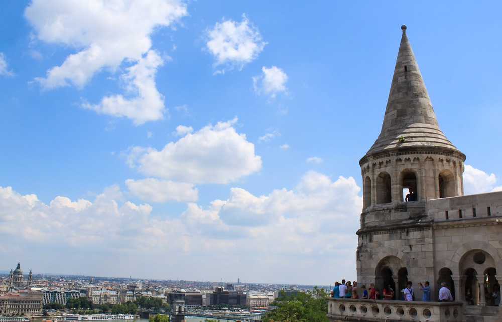 View atop Castle Hill