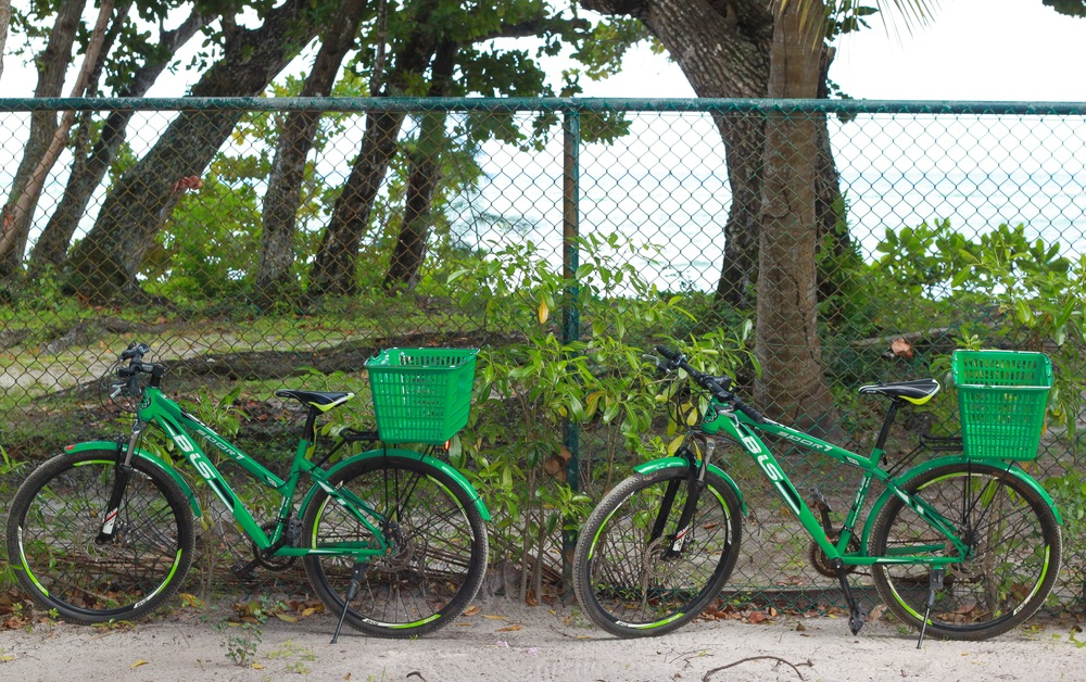 La Digue Island is bike friendly and the preferred way to get around the island