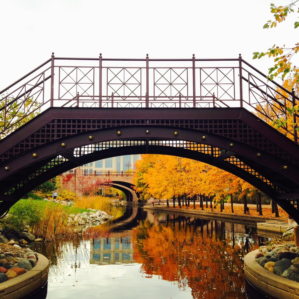 Fall at Centennial Lakes Park